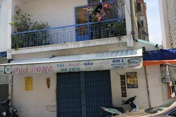Bán nhà mặt tiền đường Nguyễn Thông, phường 6, Quận 3, DT: 4 x 14.5m, nhà cấp 4, giá 16 tỷ