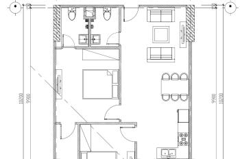 Bán nhanh căn hộ thương mại CC CT2A Thạch Bàn giá 19 tr/m2, bao thủ tục sang tên. LH 097 698 9191