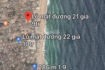Bán đất biển Phú Thọ, Đông Hòa, Phú Yên lô 279m - giá 8 triệu/1m2, LH 0886679666