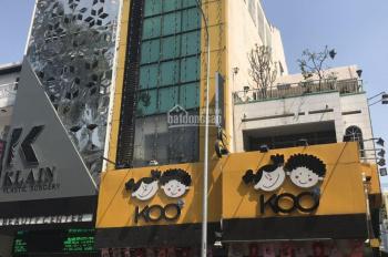 Cho thuê nhà mặt tiền 55 đường Hàm Nghi, P. Nguyễn Thái Bình Q1, DT: 4x15m, trệt 3 lầu