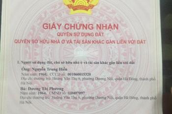 Bán 91.2m2 đất dịch vụ xã Lại Yên, Hoài Đức