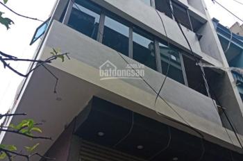 Cho thuê nhà mặt ngõ phố Hồ Tùng Mậu, Mai Dịch, Cầu Giấy, HN 110m2, 6 tầng, MT 12m. Giá 45tr/th