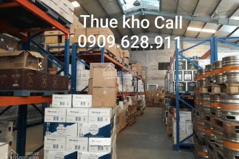 Thuê kho nhỏ quận 7, TPHCM DT 100m2, kho chung hoặc kho riêng tự quản, LH 0938.628.911
