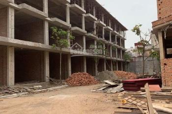 Bán dãy nhà 4 tầng xây mới, mặt đường 7m - Trung tâm Quận Lê Chân
