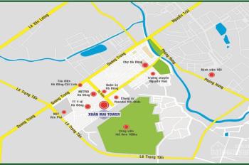 Siêu hot bán chung cư Xuân Mai Tower dt: 64,9m2 P. Hà Cầu, Hà Đông, TP Hà Nội