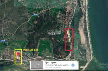 CC Bán đất sát trục đường Mỹ Trà Mỹ Khê, ven sông Trà Khúc Quảng Ngãi. Đất dự án Tăng Long Angkora