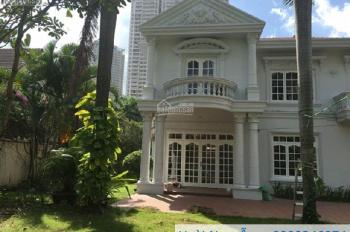 Cho thuê villa Thảo Điền 5PN, NTCB sân vườn hồ bơi giá 117 triệu. LH: 0909 246 874