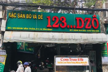 Bán nhà mặt tiền 129 Bành Văn Trân, P. 7 Q. Tân Bình, DT: 7x45.5m nở 15m DTCN: 599m2. Giá: 69.9 tỷ