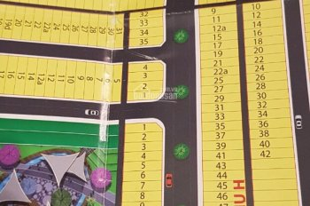 Cần bán Lô D7 dự án Lan Anh 1 mở rộng, Bà Rịa - Vũng Tàu. Đường rộng: 13m