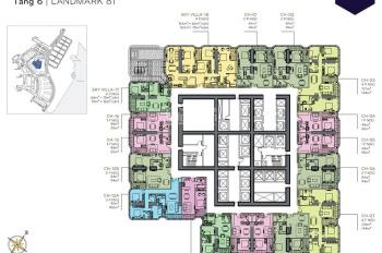 Siêu hot cơ hội cuối cùng sở hữu căn 1 phòng ngủ Landmark 81. LH: 0902900627