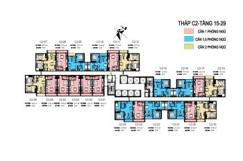 Cần bán căn hộ tòa C2 tầng 15 căn số 09 dự án D'Capitale Trần Duy Hưng, giá gốc chủ đầu tư(2.6 tỷ)