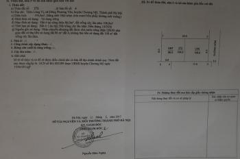 Chính chủ Bán gấp đất mặt đường xóm Láng, Xã Đông Phương Yên, Huyện Chương Mỹ, Hà Nội