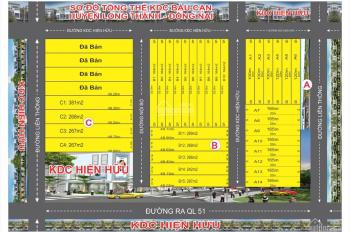 Đất nền cạnh dự án sân bay Long Thành, Đồng Nai