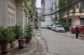 Cho thuê nhà phân lô Đặng Tiến Đông - Hoàng Cầu 50m2*4T, ô tô đỗ cửa, nhà thiết kế tầng 1 thông sàn