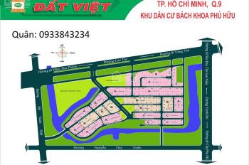 Bán đất nền dự án Bách Khoa, lô B1, Q9 giá rẻ 12x25 do chủ cần bán gấp 30 tr/m2