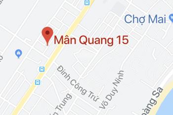 Lô đất Mân Quang, Sơn Trà gần khán đài pháo hoa a