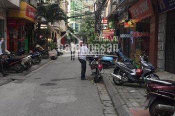 Bán nhà mặt ngõ Huỳnh Thúc Kháng, DT 85m2, xây 4 tầng, 2 mặt thoáng, ô tô tránh, gía 13.2 tỷ