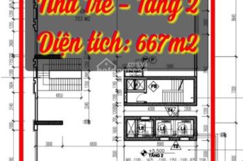 Cho thuê 1026m2 sàn thương mại làm trường mầm non quốc tế