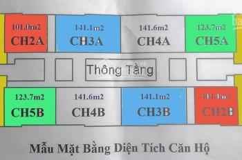 Bán cắt lỗ chung cư CT4 Vimeco, Nguyễn Chánh DT 101m2, 123m, 141m2, 148m2. Giá 29tr/m2, 0983262899