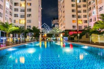 Cho thuê căn hộ chung cư Sky Center, Tân Bình, DT 36m2, 1PN, lầu trung, giá 8tr/th. LH 0911850019