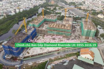 Kẹt tiền kinh doanh bán gấp City Gate 2 (Diamond Q. 8) giá 1,650 tỷ (Bao chi phí). LH: 0355.1616.19
