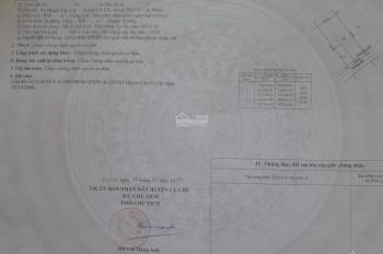 Bán đất mặt tiền đường 500 cách đường Phạm Văn Cội 200m. Gần trại giam Chí Hòa 2