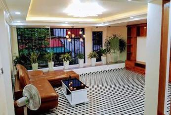 Bán gấp nhà phố Lê Đức Thọ, nhà đẹp, ô tô đỗ cửa, 2 thoáng, kinh doanh đỉnh. DT 54m2, 5 tầng, 5tỷ4