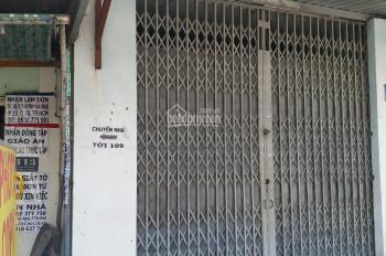 Cho thuê căn nhà mặt tiền Huỳnh Văn Nghệ, P12, Gò Vấp, 4m x 17m, giá 10 tr/th, LH 0906617919