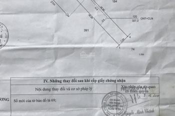 Đất mặt tiền ĐT 750 ngay ngã 3 Giáng Hương, Định Hiệp, Dầu Tiếng