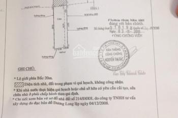 Dãy phòng trọ cần bán gấp DT 4*20m, XD 4*13m, Đông Hưng Thuận 29, P. Đông Hưng Thuận, Q12, 3tỷ320
