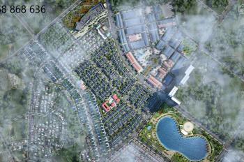Bán gấp căn biệt thự An Vượng view vườn hoa đường 28m dãy sau hồ DT 180m2 xây thiết kế mới 11.4 tỷ