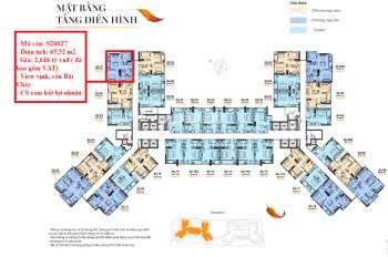 Cần tiền chuyển nhượng cắt lỗ căn hộ dịch vụ S20627 The Sapphire Doji Hạ Long