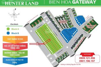 Cần bán lô đất nền tại TP. Biên Hòa, DT 72m2, 2,03 tỷ, 0901196157