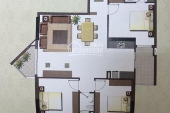 Cho thuê căn hộ An Khang: Lầu vừa, 106m2, 3PN, 2WC, view đông nam, có nội thất, 16 triệu/tháng