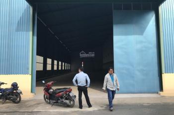 Cho thuê nhà xưởng mặt tiền ngã ba Gò Đen, đường Quốc Lộ 1A, tỉnh Long An, diện tích: 1000m2
