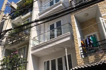 Hình nhà thật 100%! Bán rẻ nhà đẹp HXH 58 Phan Chu Trinh, P. 24, DT 3,6x12m 4 tầng. LH 0938.655.365