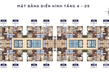 Bán gấp căn hộ 4 PN, full NT, hướng Nam cực mát, nhận nhà ở ngay giá chỉ 30tr/m2. LH 0971 389 500