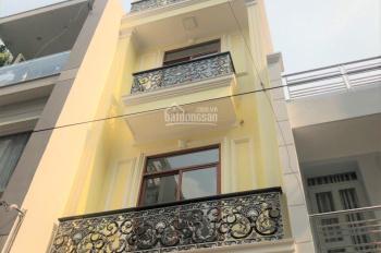 Nhà mới, có ban công, sát bệnh viện 115, đường Thành Thái, Q10, nội thất 100%, hẻm ô tô, giá rẻ