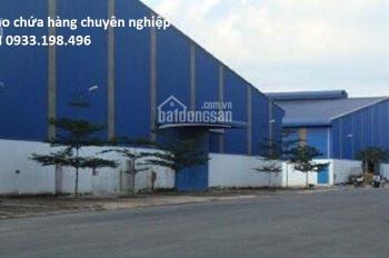 Cho thuê kho chứa hàng 100m2, 200m2, 500m2. KCN Tân Bình- KCN Vĩnh Lộc A, giá rẻ nhất 0933.198.496