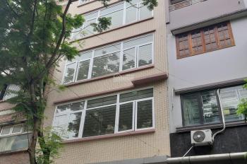 Nhà mặt ngõ 57 phố Nguyễn Khánh Toàn. DT 70m2 x 6 tầng có thang máy, thông sàn từng tầng
