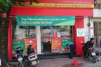 Cho thuê nhà mặt phố Nguyễn Khắc Nhu 90m2 x 3 tầng, MT 6.5m, thông sàn, 0976.075.019