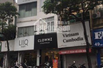 Cho thuê cửa hàng MP Thái Hà, 90m2, MT 4m, giá: 40tr/th. LH: 083.630.9999