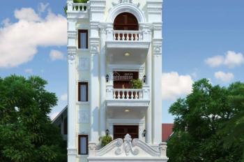 Bán nhà mặt phố Nguyễn Thị Định - Hoàng Ngân DT 55m2 MT 4m x 5 tầng. Vị trí đắc địa ngay ngã tư