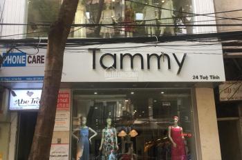 Sang nhượng cửa hàng mặt phố Tuệ Tĩnh gần Phố Huế, DT 20m2 x 5T, MT 4m, giá 25 tr/th. LH 0974739378
