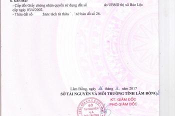Bán gara ô tô mặt tiền Trần Phú - 1654m2 - 21 tỷ thương lượng. 0902332001
