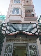 Cho thuê nhà đường 5, An Phú, DT 5x13m trệt, 3 lầu, 4PN, gara ô tô giá 40 tr/th. LH 0931819775