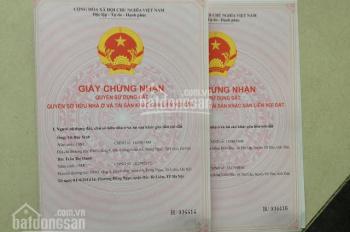 Bán nhà xây thô liền kề 13 sổ đỏ CC khu đô thị Văn Phú Hà Đông, giá 5,1 tỷ, ĐT 0913362532