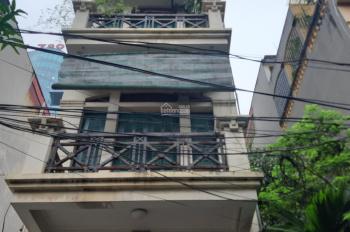 Nhà ngõ 89 phố Nguyễn Phong Sắc, diện tích 40m2 x 5 tầng thông, đường rộng 10m, giá 16 triệu/th