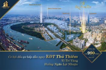 Đầu tư sinh lợi nhuận 1 tỷ/trong 9 tháng-Dự án Paris Hoàng Kim-Hot nhất Thủ Thiêm-0909.895.414