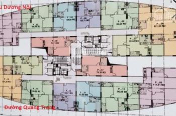 Cần tiền bán gấp căn hộ 1505, diện tích 90,59m2 tại dự án CT2 Yên Nghĩa, Hà Đông